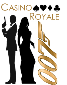 Annual Dinner 2019 Casino Royale Logo