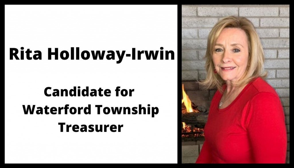 Candidate for Waterford Township Treasurer
