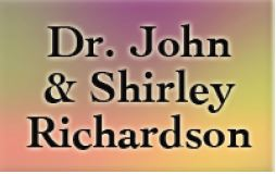 Dr. John & Shirley Richardson - Community Supporters