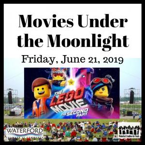 Movies Under the Moonlight lego
