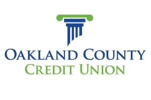 Oakland County CU logo centered