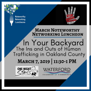 march Kowall Human trafficking luncheon