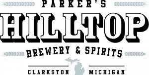 parker's hilltop brewery & spirits MI state logo