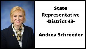 State Representative District 43 Andrea Schroeder