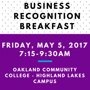 Business Recognition Breakfast