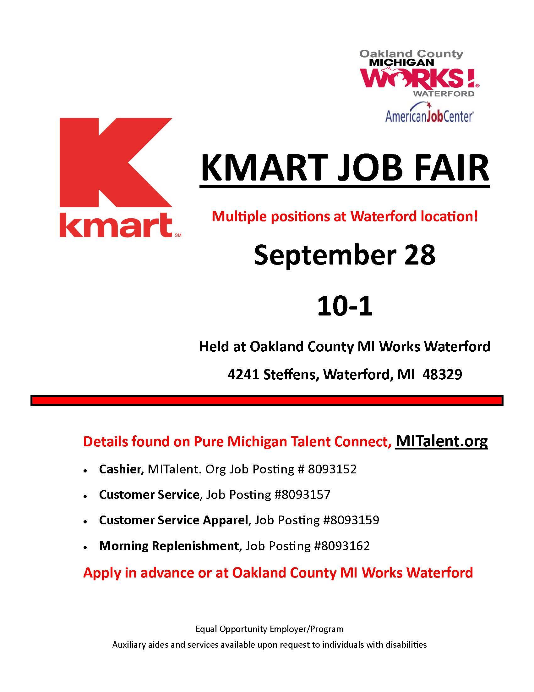 kmart job and career information control room operator sample