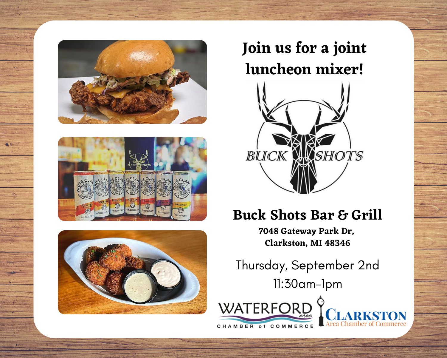 Copy of Buck Shot Luncheon - Square