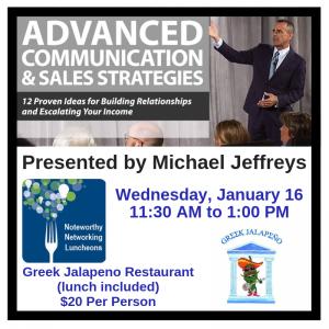 Michael Jeffreys Luncheon