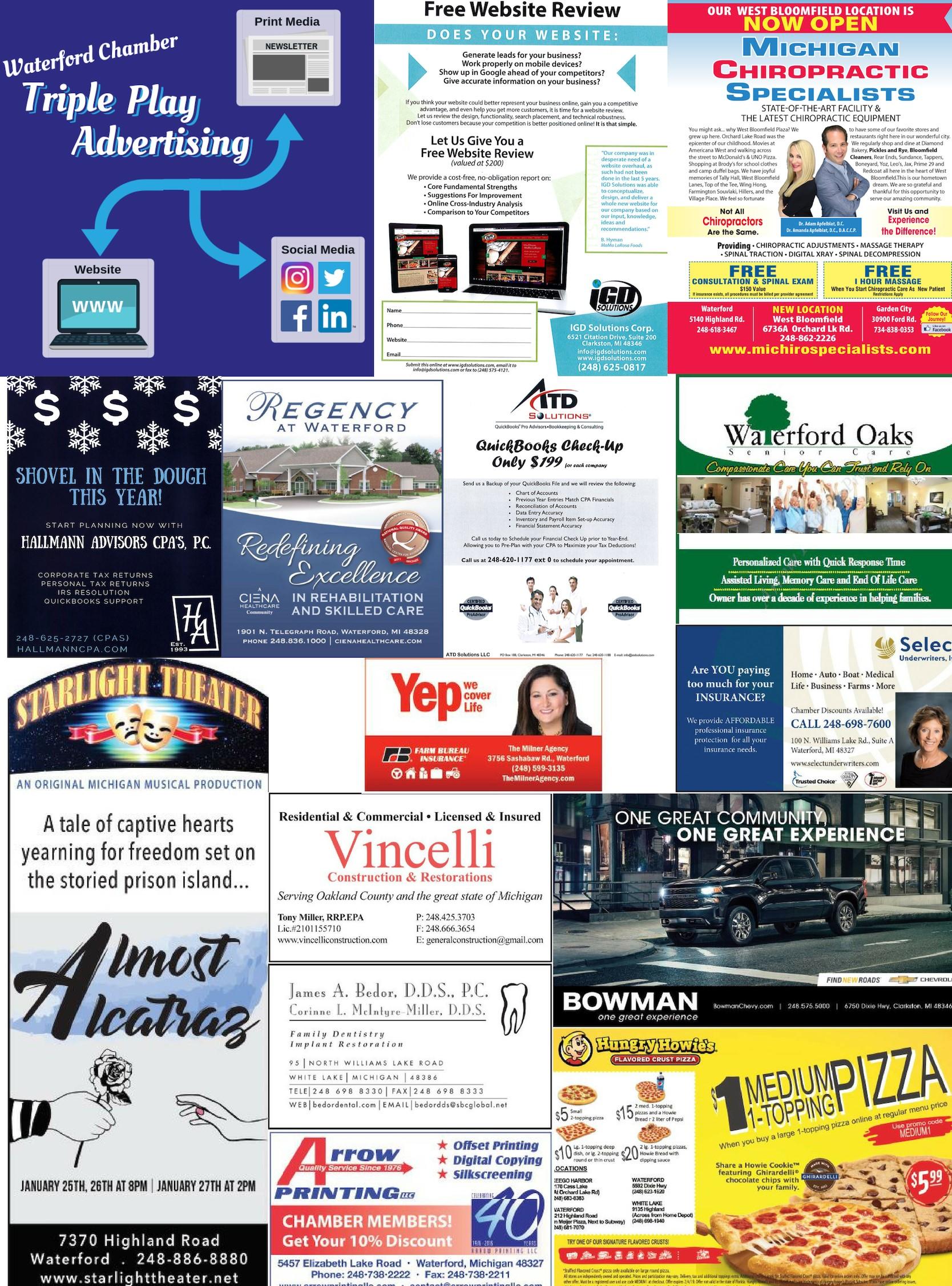 Triple Play Advertising Social Media