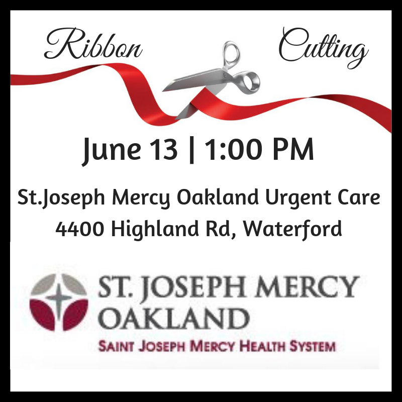 St Joseph Urgent Care Ribbon Cutting