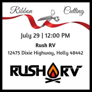 Rush RV Ribbon Cutting