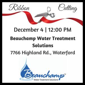 Beauchamp Ribbon Cutting