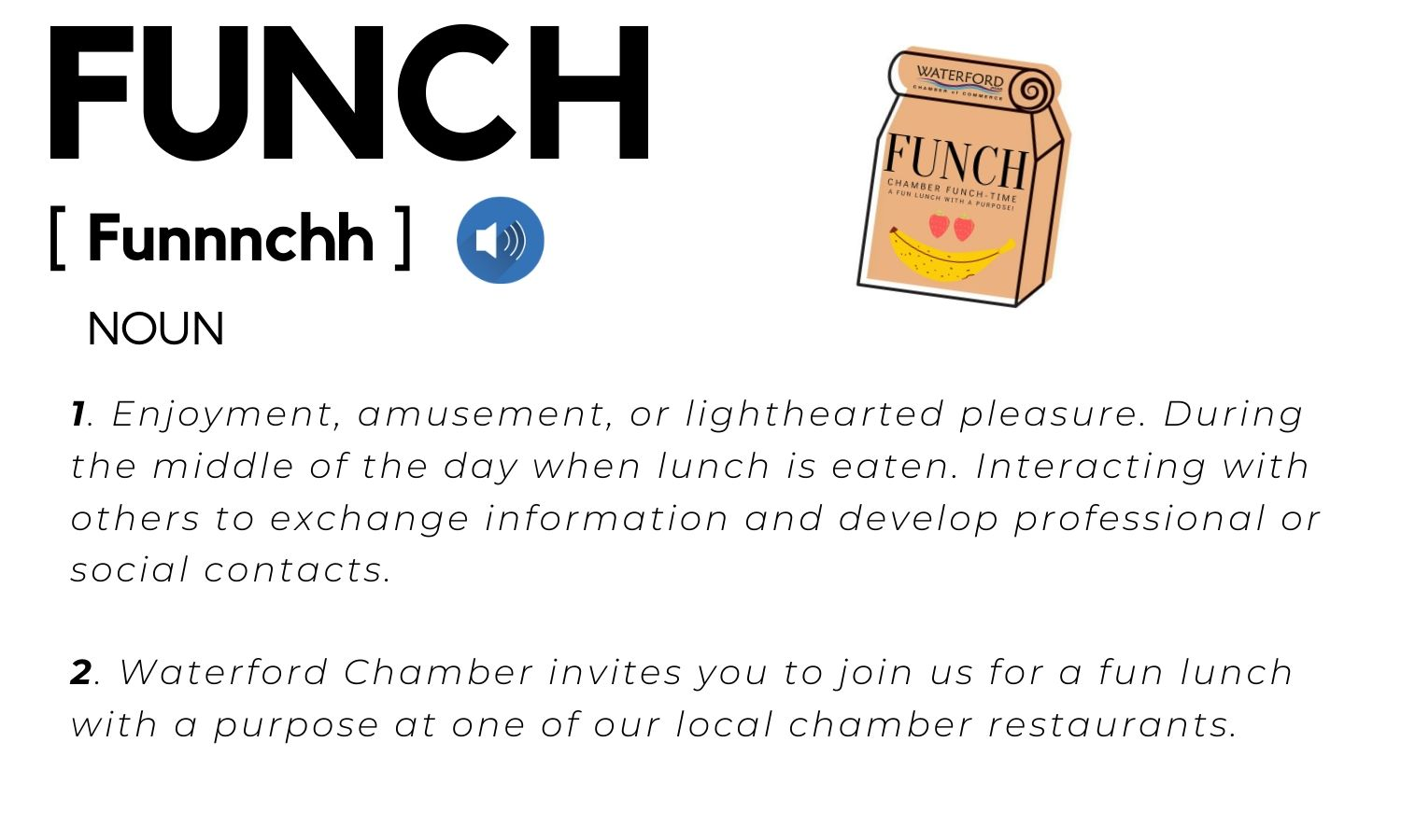 Funch definition graphic for web