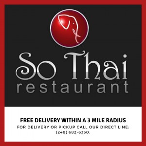 Free Delivery within a 3 Mile radiu