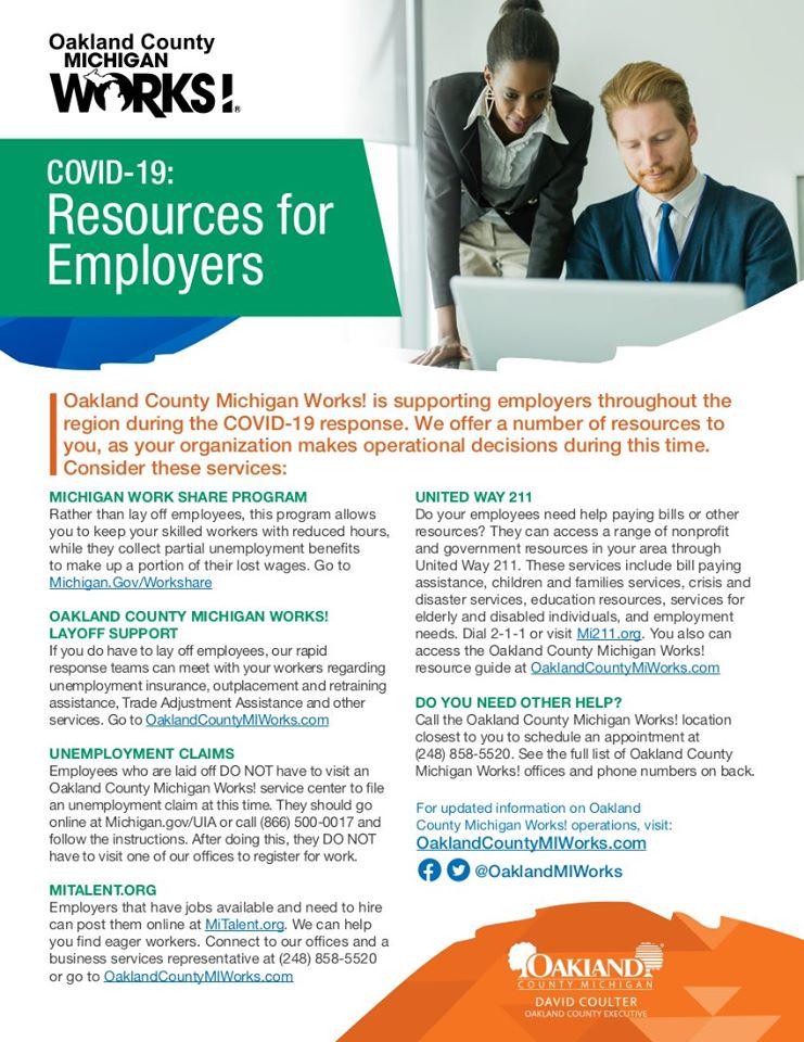 MI Works Business Resources