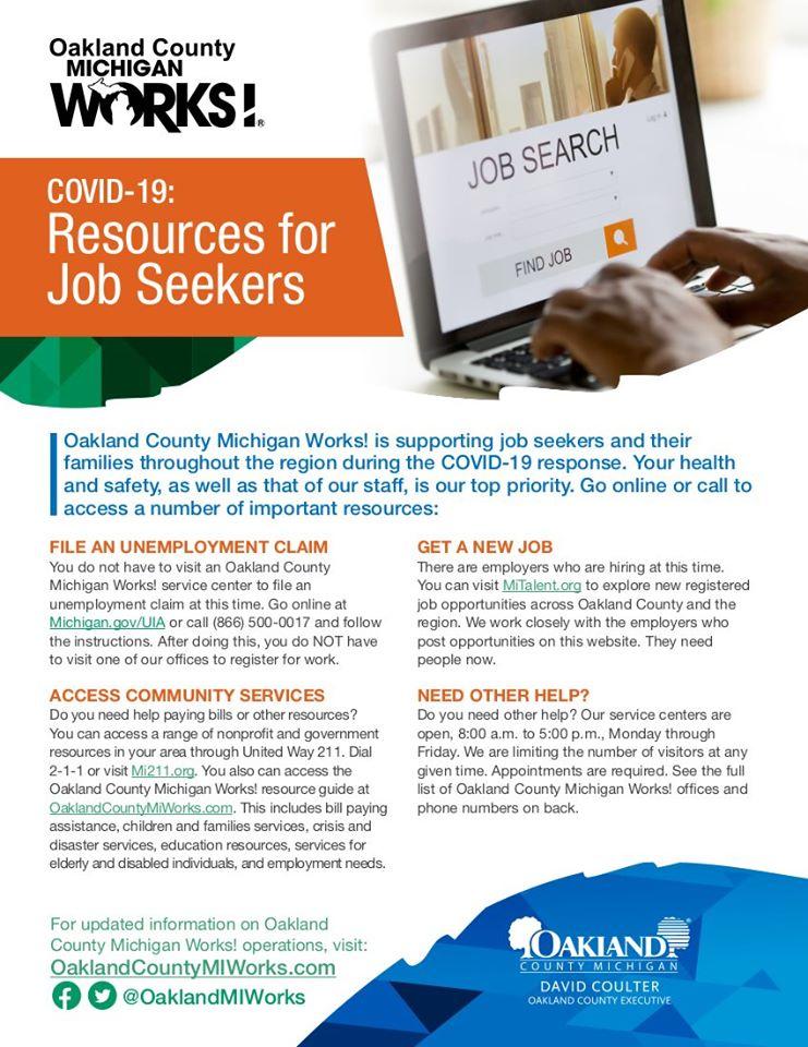 MI Works for Job Seekers