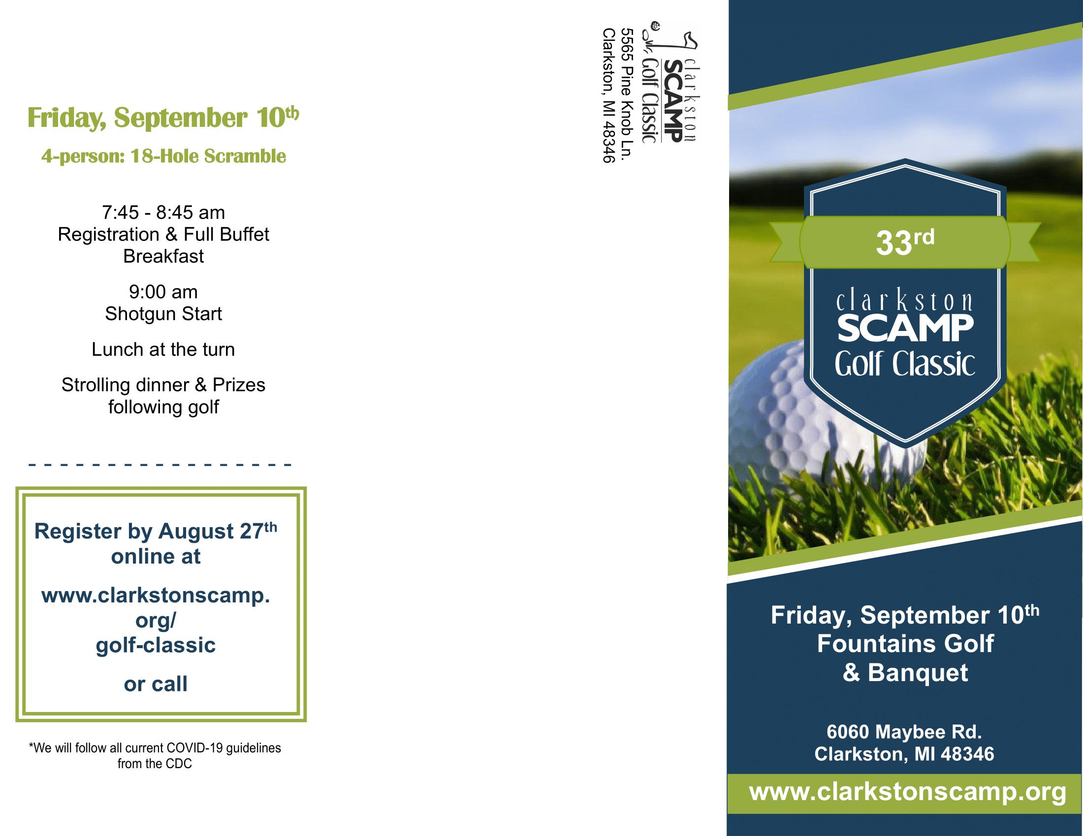 Golf Brochure 2021-2