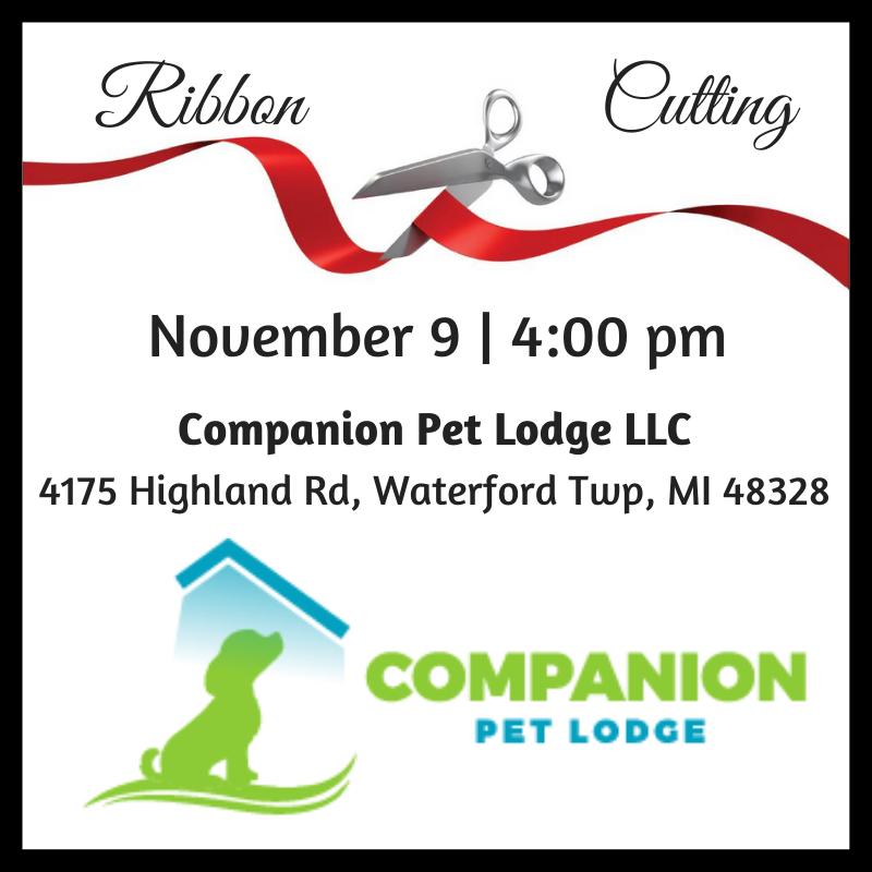 Companion Pet Lodge Ribbon Cutting
